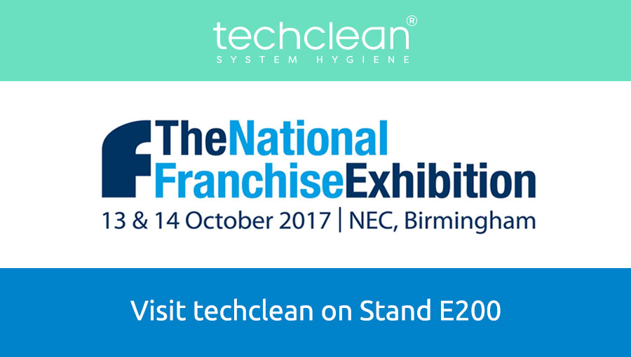 Techclean at The National Franchise Exhibition 13 & 14 October, NEC Birmingham