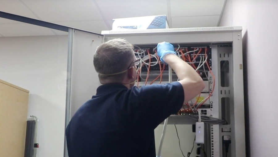 [VIDEO] A handy video guide on how techclean deep cleans your comms & data rooms