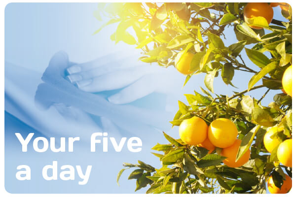 Are you getting your five a day this term?